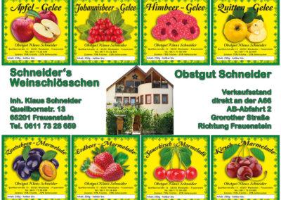 Schneiders-GeleeEtiketten