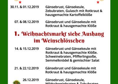 Schneiders-Dezembervorschau