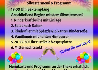 Schneiders-Silvesterparty