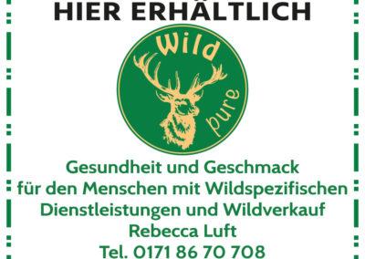 WildPure Schild