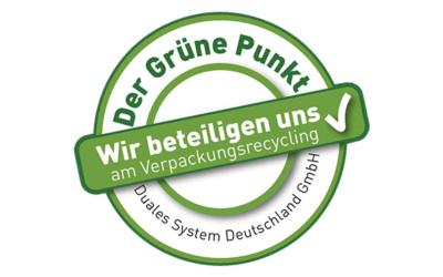 Verpackungsgesetz Grüner Punkt