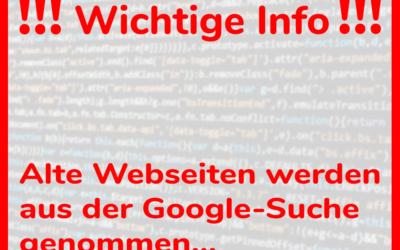 Änderungen Google-Suche