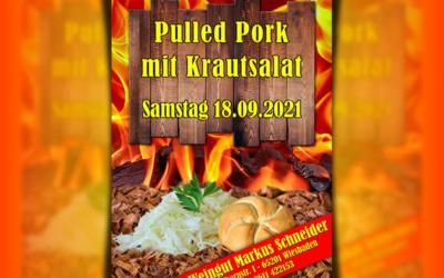 Pull Pork, Federweißer & Apfelmost