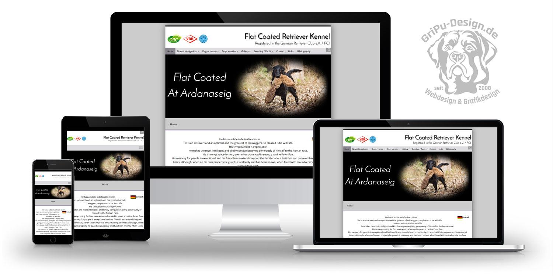 Referenzen Webdesign / Kennel Atardanaseig