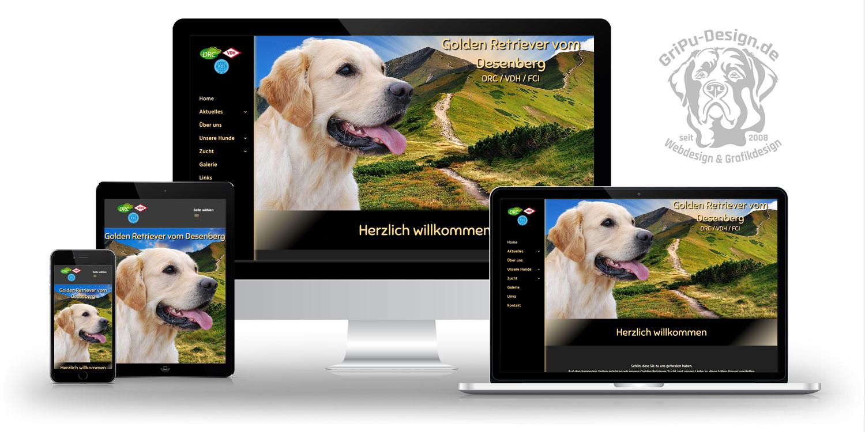 Referenzen Webdesign / vom Desenberg