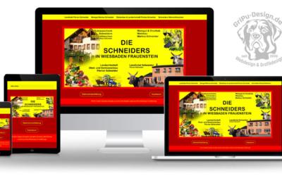 Eine Webseite für 4 Unternehmen