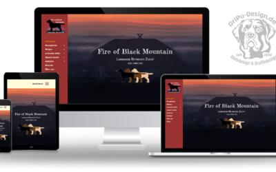 Züchterwebseite im neuen Design