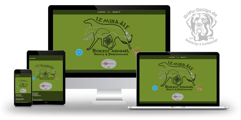 Referenzen Webdesign / Iz Mira Älf