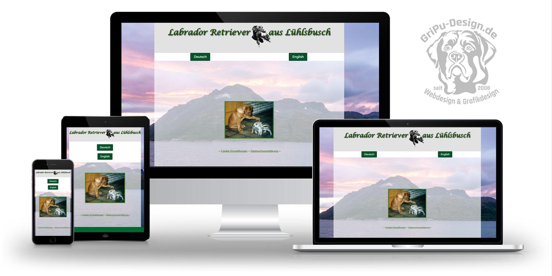 Referenzen Webdesign / Kennel aus Lühlsbusch