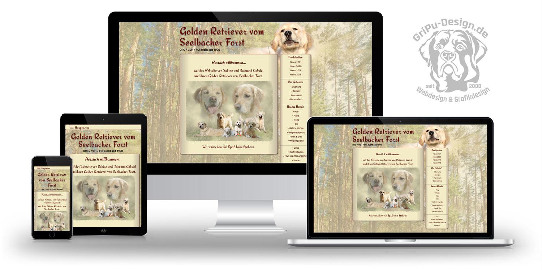 Referenzen Webdesign / Kennel vom Seelbacher Forst