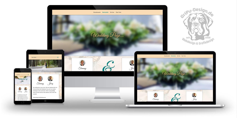Referenzen Webdesign / Wedding Tammy Und Jörg